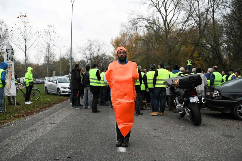 d90e10f4e174 «Gilets jaunes»   près de 283.000 manifestants
