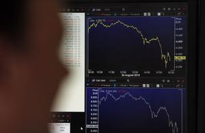 La Bourse de Paris finit en recul après des propos de Mario Draghi