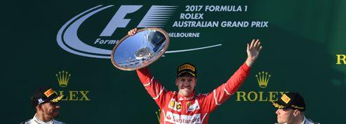 Ferrari au sommet en Bourse après la victoire de Sebastian Vettel au Grand Prix d'Australie