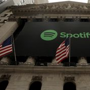 Spotify s'envole pour sa première cotation