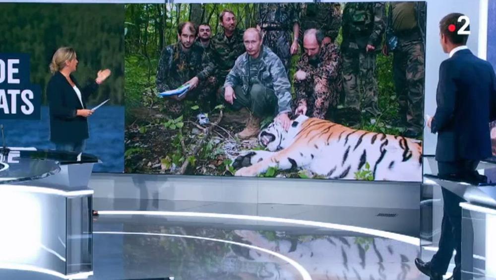 RT France épingle France 2 après un sujet sur les vacances de Vladimir Poutine