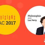 Bac de philosophie : les conseils de Luc Ferry pour vos révisions