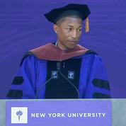 Le discours inspirant de Pharrell Williams devant les diplômés de la New York University