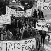 Les étudiants en Staps manifestent contre leurs conditions d'étude