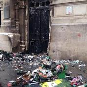 Le lycée Voltaire en proie aux flammes après un blocus lycéen