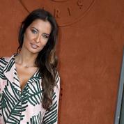 Malika Ménard en immersion à Roland-Garros