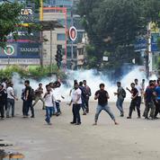 Au Bangladesh, les étudiants manifestent pour une meilleure sécurité routière