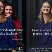 La nouvelle campagne de HEC Paris moquée sur internet