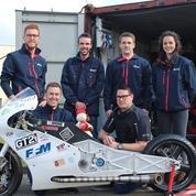 Ces six étudiants ont construit une moto pour battre le record du monde de vitesse