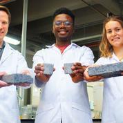 Des étudiants créent la première brique à base d'urine au monde