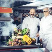 Philippe Etchebest-Alain Ducasse : rencontre au sommet de la gastronomie dans Top chef