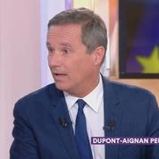Nicolas Dupont-Aignan prié de quitter le plateau de Cà vous