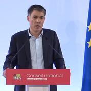 Européennes: le PS entérine son alliance avec Place publique de Raphaël Glucksmann