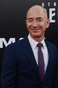 Jeff Bezos attends the