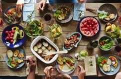 À table, l'être humain préfère le rouge