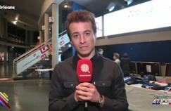Les équipes du Petit Journal et de Quotidien bousculées lors du meeting de François Fillon