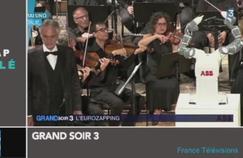Zapping TV : Un robot chef d'orchestre dirige un concert en Italie