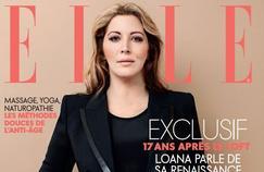 Loana métamorphosée en couverture du magazine ELLE