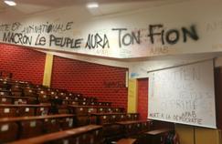 Les photos incroyables du site de Tolbiac après l'évacuation des étudiants