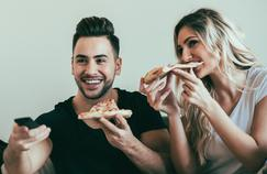 La pizza: plat préféré des amateurs de séries
