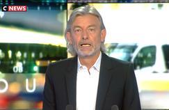 Bertrand Chameroy prend Gilles Verdez à son propre jeu après ses débuts sur CNews