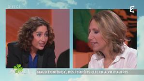 AcTualiTy : une chroniqueuse claque la porte après un clash avec Maud Fontenoy