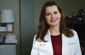 Retour de Geena Davis dans Grey's Anatomy