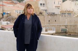 Michèle Bernier en tournage à Marseille pour La Stagiaire