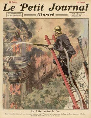 Incendie au Printemps