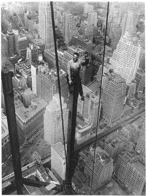 Construction de l'Empire State Building