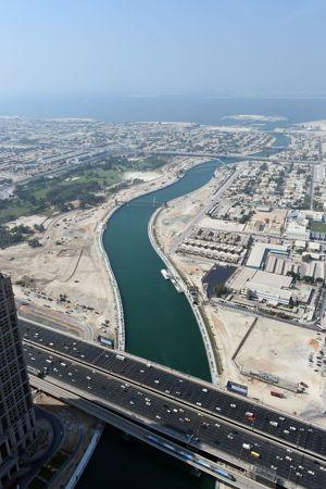 UAE-ECONOMY-TRANSPORT-TOURISM-CANAL