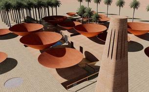En Iran, des toits en entonnoir permettent de lutter contre la sécheresse