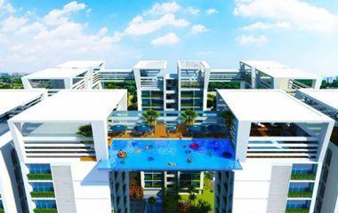 La bataille des piscines transparentes est lanc e for Piscine entre 2 immeubles