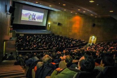 Ciné conférence du 31 janvier 2015 à Lyon. Crédit: Jérôme Mastrovalerio