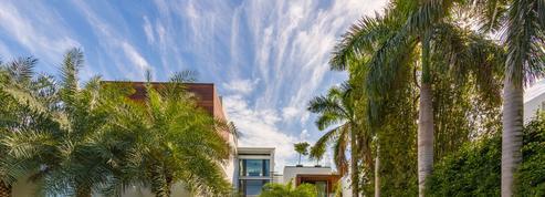 Voici comment prendre le soleil sur le toit d'une maison de Miami
