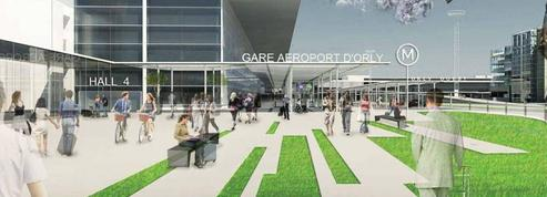 Voici à quoi ressemblera la future gare du métro à Orly