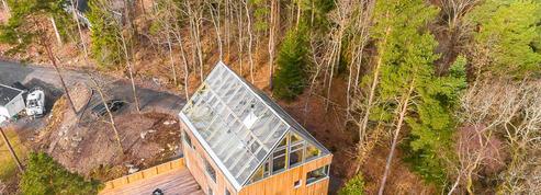 Cette spectaculaire maison-serre est à vendre en Suède