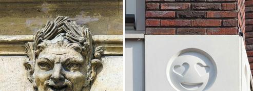 Des emojis plutôt que des sculptures pour décorer les façades