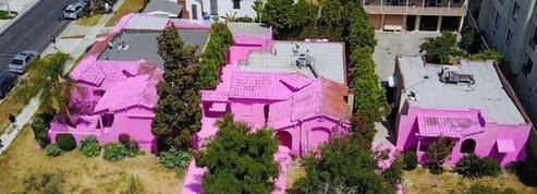 À Los Angeles, les voisins voient rouge à cause de ces maisons roses