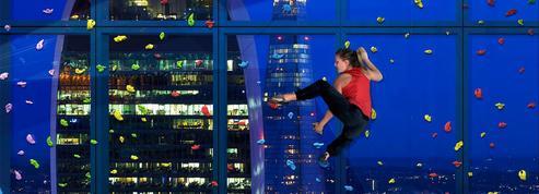 Dans cette tour de bureaux, les salariés pourront grimper aux fenêtres