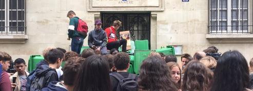 Au lycée Fénelon, les lycéens se mobilisent contre la réforme du Code du travail