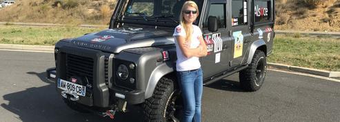 Laura Vasilescu, la benjamine du rallye des gazelles