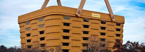 Cet immeuble en forme de panier a été vendu pour être transformé