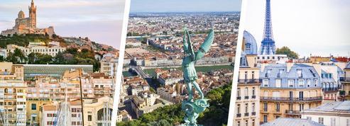 Voici les quartiers préférés des Lyonnais, Marseillais et Parisiens