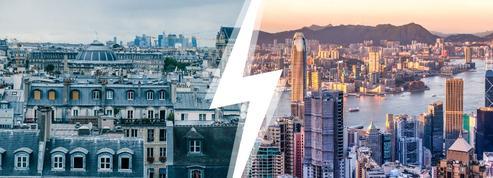 Paris contre Hong Kong: le match des villes où les prix immobiliers ont flambé
