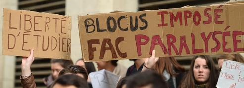 Ambiance tendue à la fac de droit de Montpellier: l'université restera fermée demain