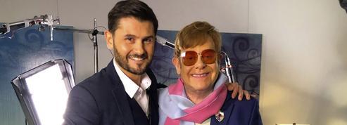 Christophe Beaugrand est parti à la rencontre d'Elton John à Las Vegas