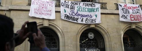 Sciences Po Paris bloquée par des étudiants contre «la dictature macronienne»