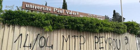 À Montpellier, après le départ en vacances des bloqueurs, la police vient constater les dégâts