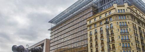 À Bruxelles, ces bâtiments comptent réconcilier le public avec l'Europe